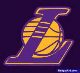 lakers colors how to draw the lakers the lakers logo step by step