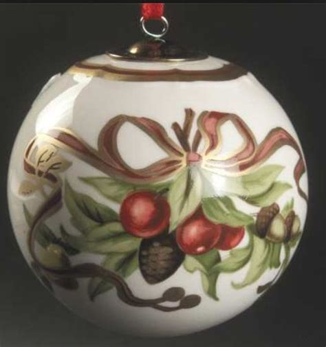 tiffany co porcelain ornament tiffany co christmas