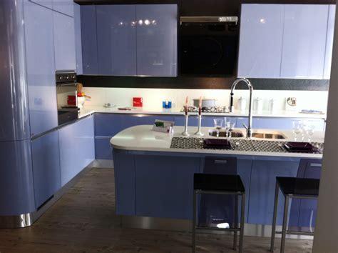 cucina azzurra offerta scavolini tess azzurra cucine a prezzi scontati