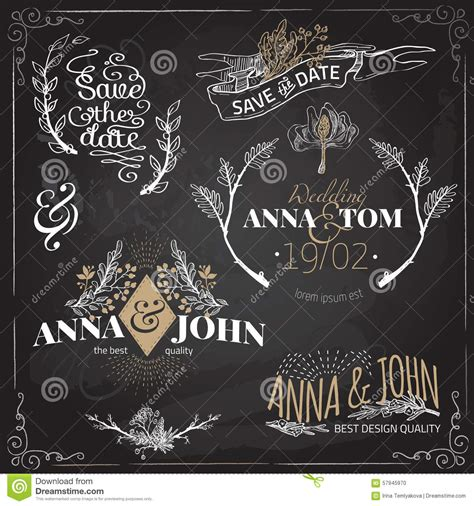 vector wedding design elements and calligraphic page decoration vector design elements and calligraphic stock vector