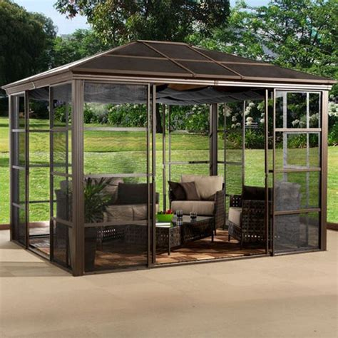 Backyard Gazebo Tent by 11 Best Images About Screen Room On Pits Outdoor Screens And Pavilion