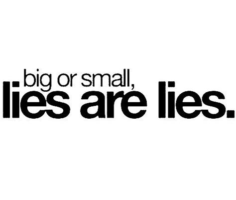 The Lies expecting honesty and getting lies when are you most able