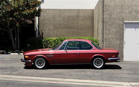 bmw cs 1974 bmw 3 0cs gets lowering springs autoevolution