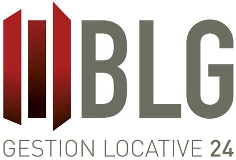cr 233 ation de logo pour blg gestion locative 24