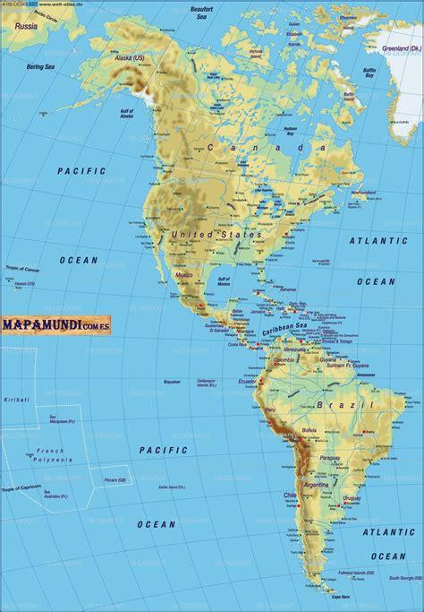 mapa politico de america imagenes mapas de america pol 237 tico mapa f 237 sico geogr 225 fico