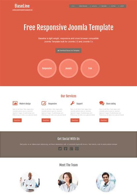 how to create a joomla template 50 free responsive joomla templates freshdesignweb