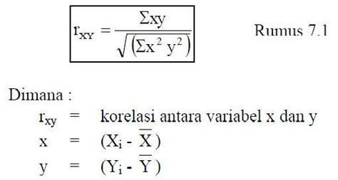 Buku Rumus Dan Data Dalam Analisis Statistik materi statistika 1 korelasi mathematics e learning syahidan27