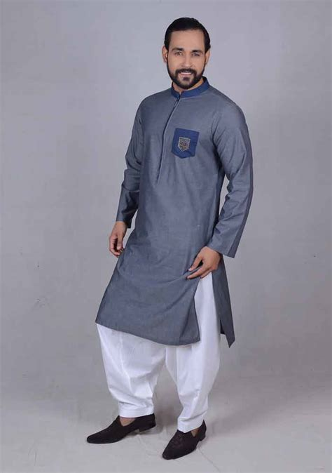 new pattern of kurta new blue best pakistani men kurta shalwar kameez designs