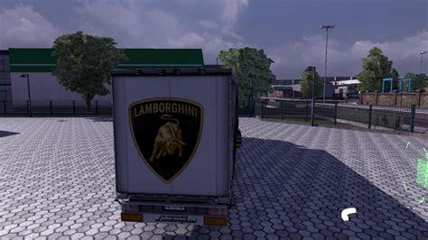 Lamborghini Aventador Trailer Lamborghini Aventador Roadster Trailer Skin Modhub Us