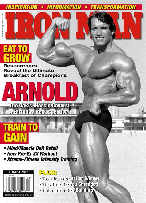 Contest Alert Shoulders And Cosmopolitan Magazines Turner Of The Year Contest by August 2012 Issue Preview Iron Magazine