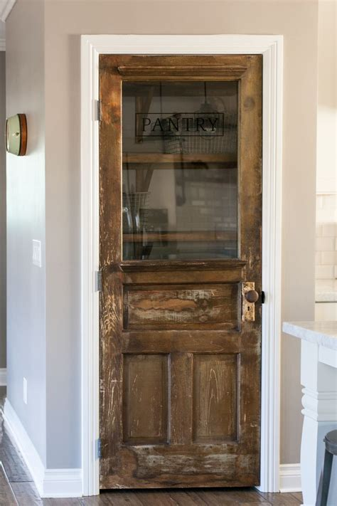Antique Kitchen Pantry by 25 Best Ideas About Rustic Pantry Door On