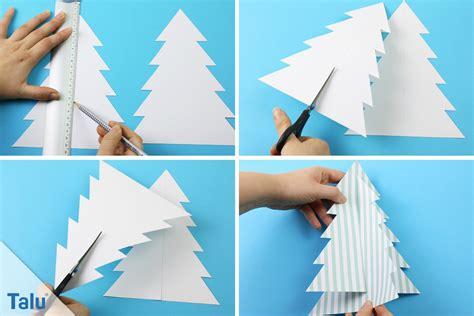was kann mit papier basteln tannenbaum basteln aus papier anleitung und ideen talu de
