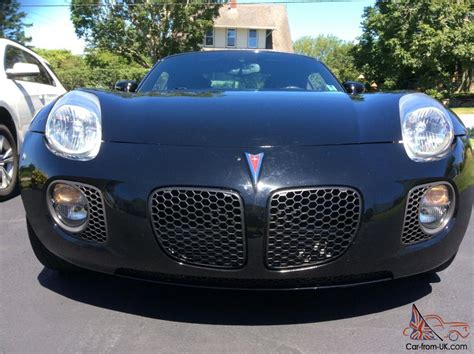 pontiac last year of production pontiac solstice gxp turbo coupe