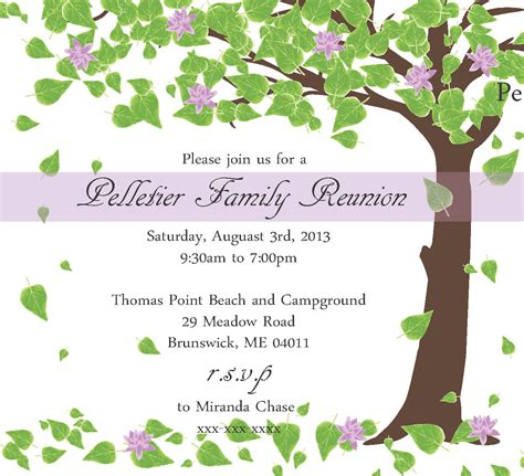 family reunion invitation template family reunion invitation by littlebopress on etsy