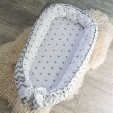 baby nest bed awesome double sided baby nest for newborn babynest sleep