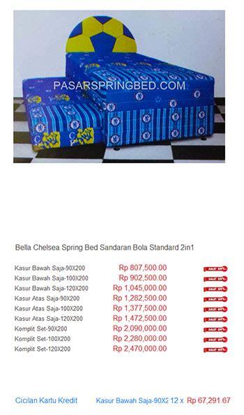 Daftar Kasur Alga kasur harga bed termurah di indonesia