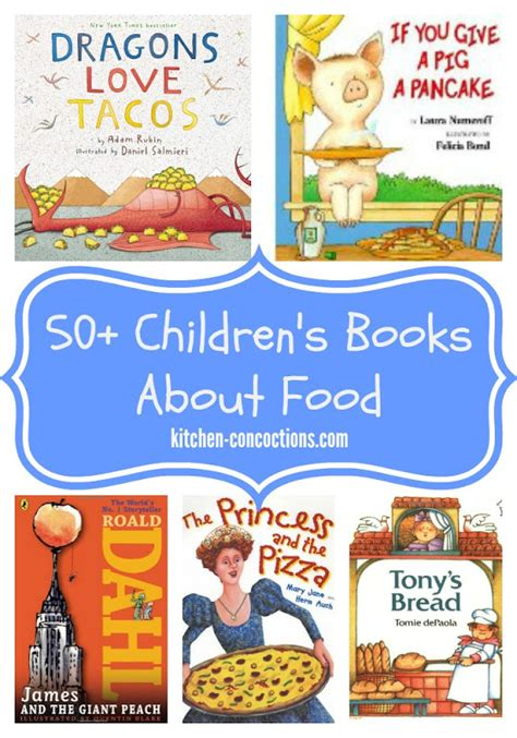 unkie children s book books 50 children s books about food in the kitchen