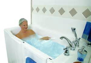 walk in tubs a high quality bathing experience for