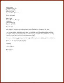 How To Give A Resignation Letter by 6 Two Weeks Notice Sles Receipts Template
