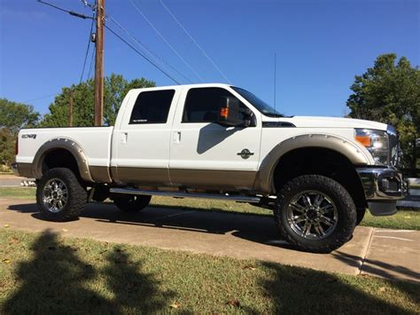 real nice lifted white ford   truck ford  trucks