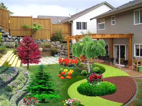 landscaping ideas for hillside backyard landscaping ideas for backyard hillside the garden