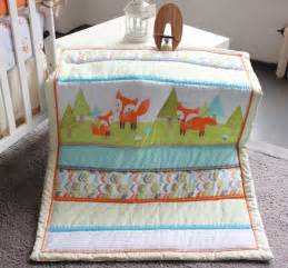 baby bed set 2015 new 7 pcs baby bedding set baby bed set fox