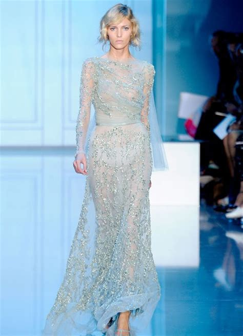 Runway Report Elie Saab Couture by Runway Report Haute Couture Fashion Week Elie