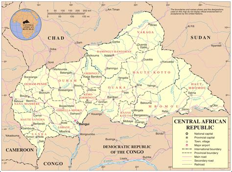 republic map with cities maps of central republic map library maps of