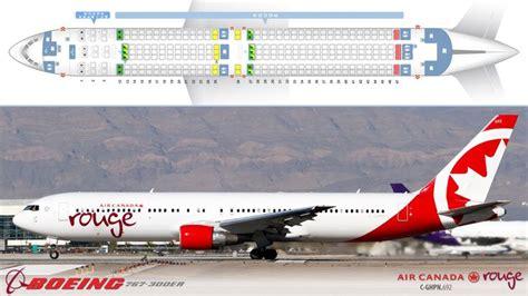 767 300 seating air canada air canada seating chart 763 b767 300er config 1