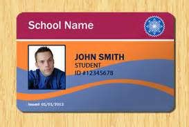 Student Id Template by Student Id Template 5 Other Files Patterns And Templates