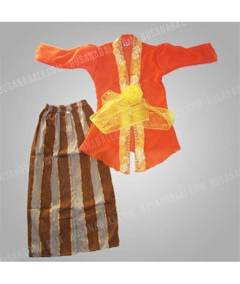 Set Kebaya Dan Kamben 4 pakaian kebaya busana adat bali untuk anak cewek umur 3 4