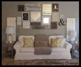how to decorate living room wall home design
