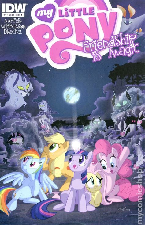 my little pony friendship is magic 2012 idw comic books my little pony friendship is magic comic books issue 7