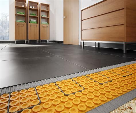 Ditra Heat On Shower Floor - schluter ditra heat floor warming system pro remodeler