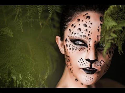 serre gaga english maquillage d halloween par cynthia dulude femme l 233 opard