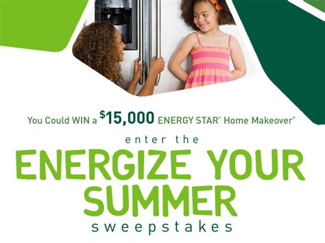 Summer Sweepstakes - energize your summer sweepstakes