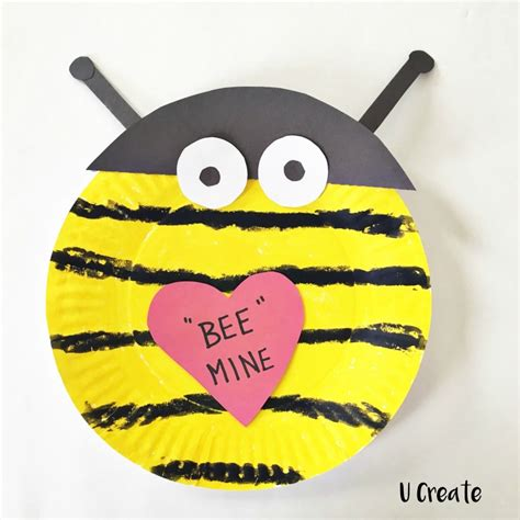 Bumble Bee Paper Plate Craft - paper plate crafts u create