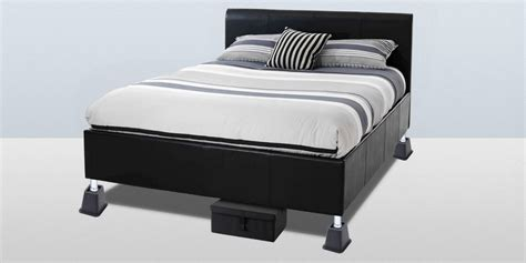 bed frame risers risers for bed frames mantua inter lock metal bed base