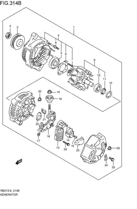 suzuki aerio oem parts engine diagram and wiring diagram