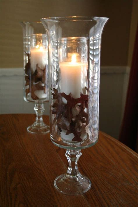 Dollar Tree Glass Vases by I Made These Hurricane Ls From Glass Candleholders And Vases Purchased From The Dollar Tree