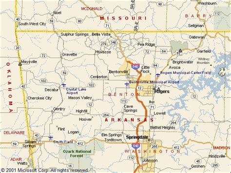 Benton County Ar Records Usgs Groundwater