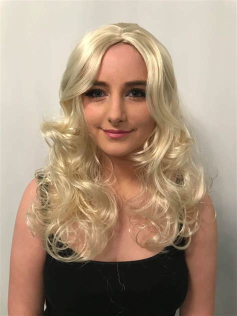curly blonde wig stunning curly blonde wigs buy