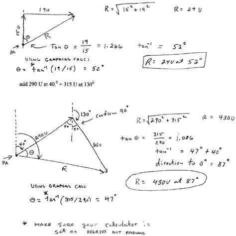 tutorial on vector analysis image gallery trigonometry exles