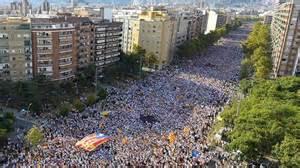 demonstration f 252 r kataloniens unabh 228 ngigkeit