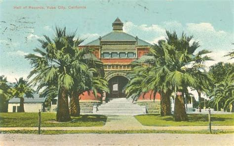 Yuba County Records Postcards From Sutter County Ca