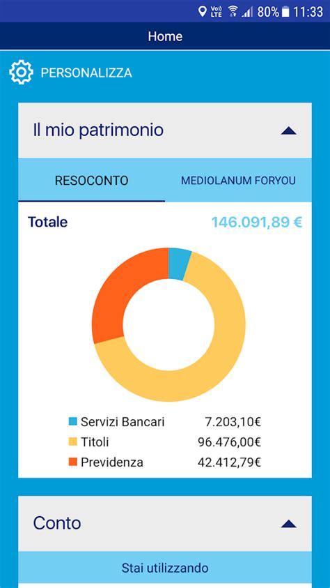 mediolanum app mediolanum 4 3 1 apk android finance apps
