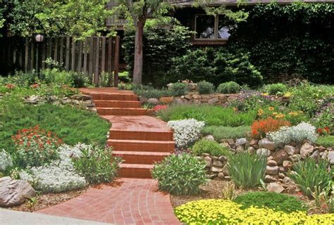 Xeric Landscape Ideas Xeriscape Small Front Yard Difficult Slope Is Tamed With