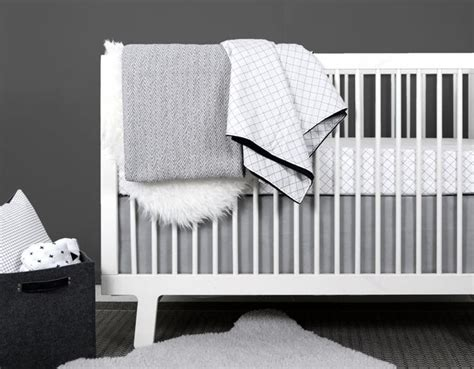 Black Modern Crib by 1000 Images About Grid Nursery On Black White