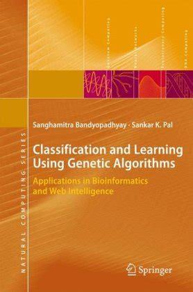 pattern classification using genetic algorithms classification and learning using genetic algorithms