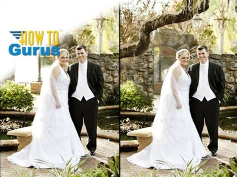 tutorial photoshop cs5 wedding photoshop wedding photo editing how to repair fix a